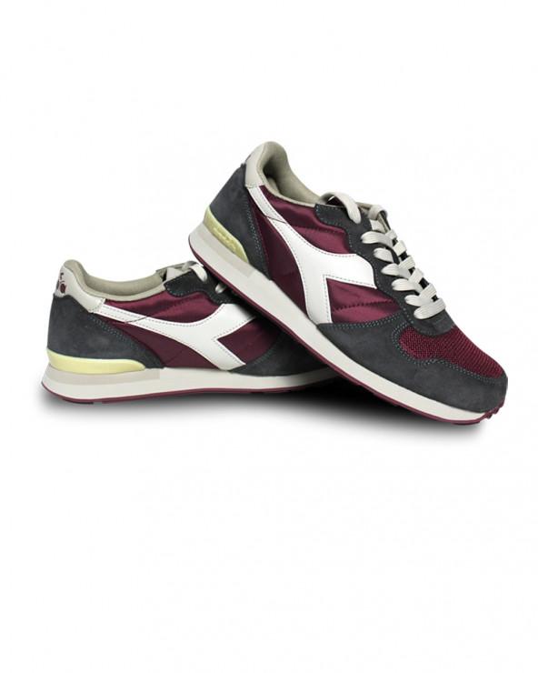Chaussures Basket Camaro bordeaux/gris