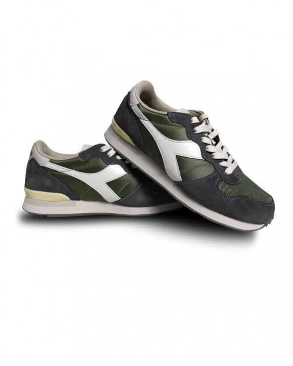 Chaussures Basket Camaro kaki/gris