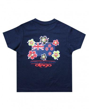 FLAG T-shirt Bleu marine enfant Otago