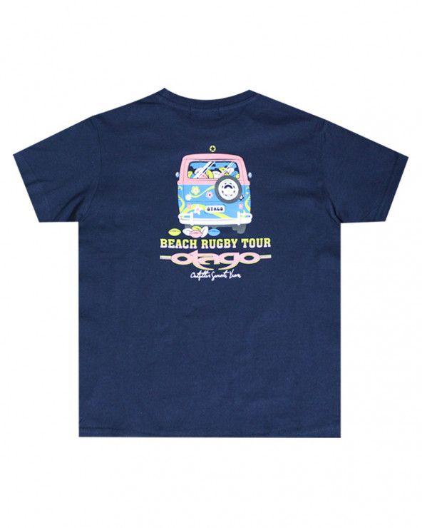 T-shirt Combidos Otago rugby enfant col rond marine