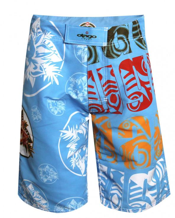 Short de bain Flower Otago rugby bleu homme