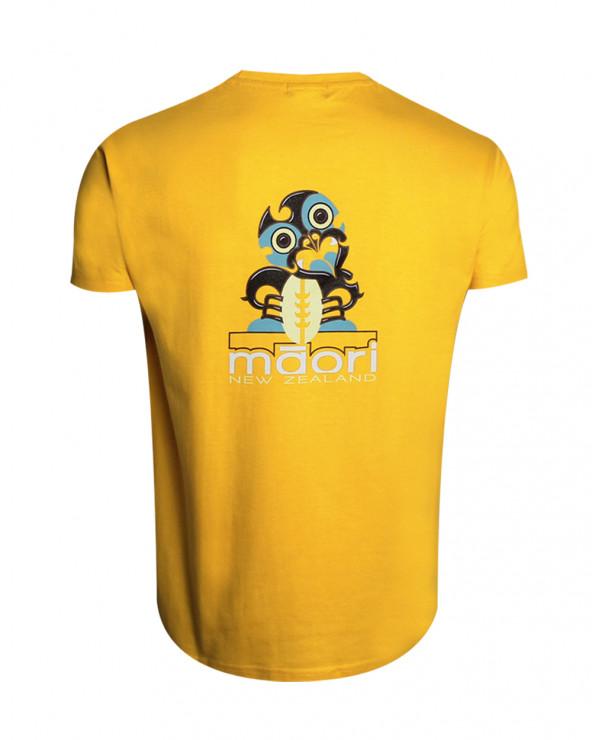 T-shirt Haast Otago rugby jaune homme