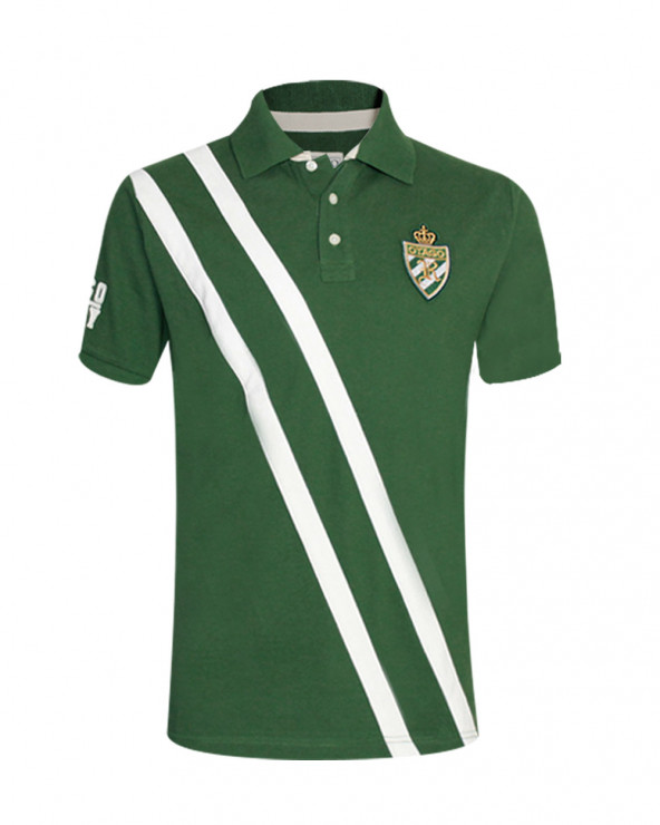 Polo Otago rugby manches courtes vert homme