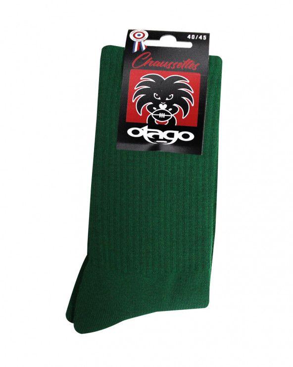 Chaussettes Otago rugby vert foncé homme
