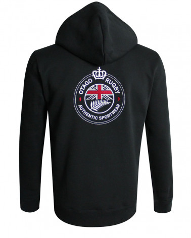 Sweat zip capuche DOMY Otago noir homme