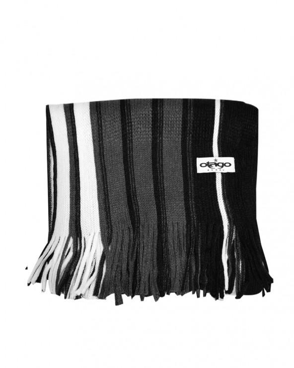 Echarpe Dressy rayée noire Otago rugby
