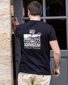 T-shirt Team Otago rugby noir homme