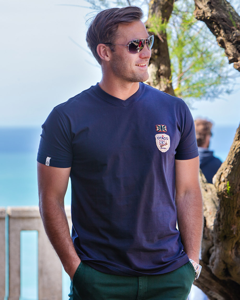 T-shirt burnsy Expiji otago rugby homme