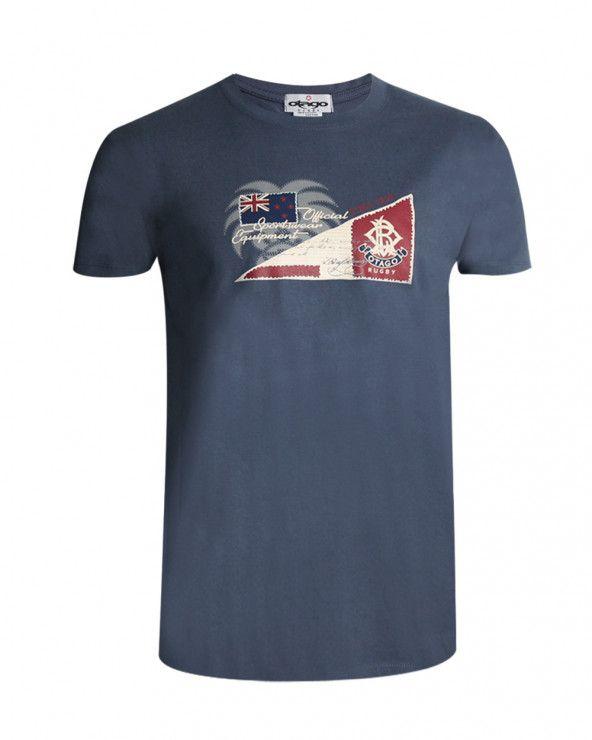 T-shirt Bostago Otago denim homme