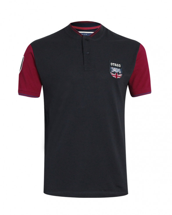 Tee-shirt TUNIS Otago rugby bleu marine bordeaux homme