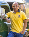 Polo Artax manches courtes Otago rugby mimosa homme
